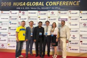 Κορέα 2018 Nuga Global Conference