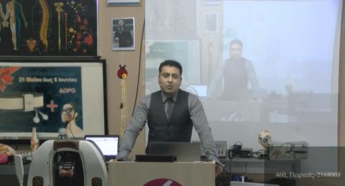 Παρουσίαση από το κατάστημα της Αγίας Παρασκευής (skype με κατάστημα Δάφνης)
